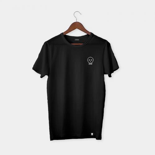 Camiseta Craneomedia - Negro