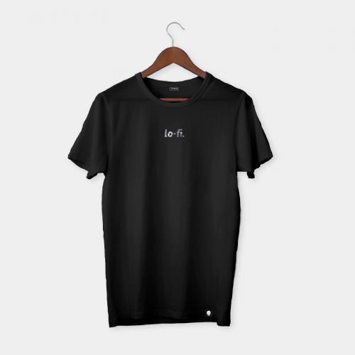 Camiseta LO-FI - Negro