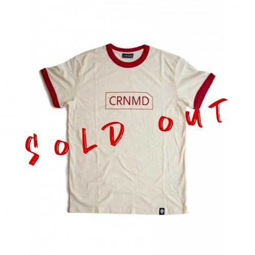 Camiseta CRNMD - Marfil/Rojo