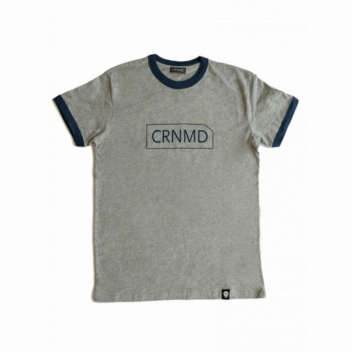 Camiseta CRNMD - Gris/Azul