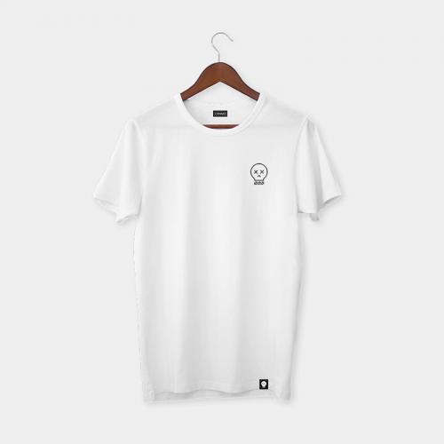 Camiseta Craneomedia - Blanco