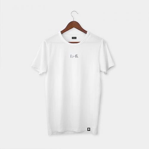 Camiseta LO-FI - Blanco