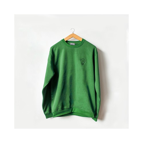 Sudadera Craneomedia - Verde